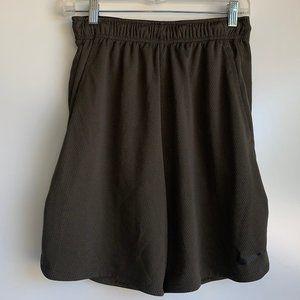 NIKE DRI-FIT Army Green Training Shorts Mens Small